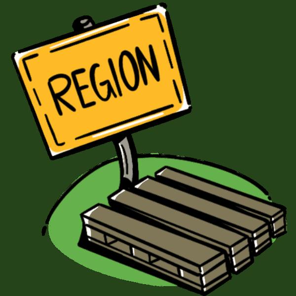 REGIONALE BELIEFERUNG